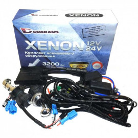 Комплект біксенона Guarand Slim H4 4300K 35W 12V
