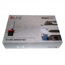 Комплект біксенона QLine Max Light Н4 H/L 4300К