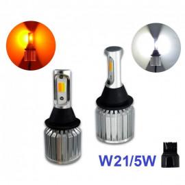 Лампи DRL+поворот Baxster Cob Light P21W