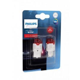 Світлодіодні лампи Philips Ultinon Pro3000 RED 11065U30RB2 W21W LED 12V