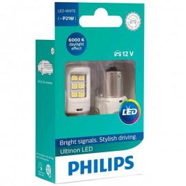 Світлодіодні лампи Philips Ultinon 11498ULWX2 P21W (BA15S) 6000K