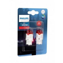 Світлодіодні лампи Philips Ultinon Pro3000 RED 11066U30RB2 W21/5W LED 12V