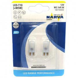 Світлодіодні лампи Narva 18074-02B W5W 12V W2,1x9,5d LED 0,6W 6000K