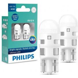 Світлодіодні лампи Philips Ultinon 11961ULWX2 T10 LED 6000K 12V B2
