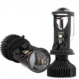 Комплект світлодіодних лінз HeadLight Y6D BI-LED H4 25/35W mini