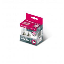 Комплект галогенних ламп Tungsram Megalight Ultra +120% H7 55W 12V