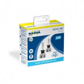 Світлодіодні лампи Narva RPL Range Performance 18057 H1 12/24v 6500K X2 24W