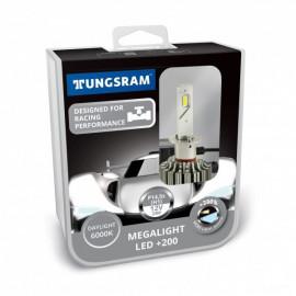 Світлодіодні лампи Tungsram Megalight LED +200 12V H1 24W 6000K