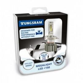 Світлодіодні лампи Tungsram Megalight LED +200 12V H4 24W 6000K