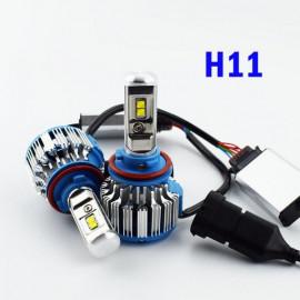 Світлодіодні лампи TurboLed T1 H11 6000K 50W 12/24v CanBus