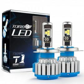 Світлодіодні лампи TurboLed T1 H4 6000K 50W 12/24v CanBus