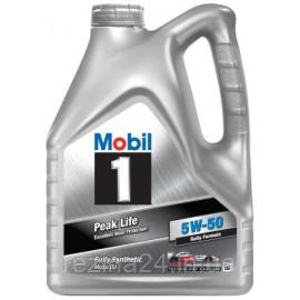 Моторне масло Mobil 1 Peak Life 5W-50 4л