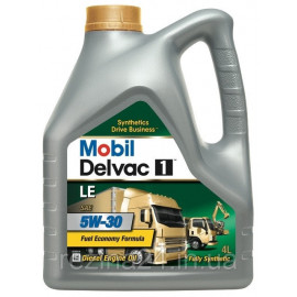 Моторне масло Mobil Delvac 1 LE 5W-30 4л