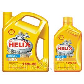 Моторне масло Shell Helix HX5 Diesel 15W-40 1л