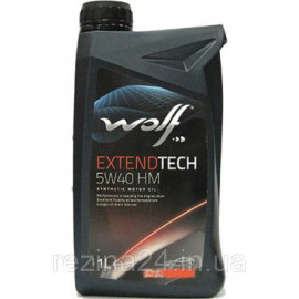 Моторне масло Wolf Extendtech HM 5W-40 1л