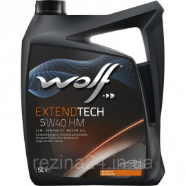 Моторне масло Wolf Extendtech HM 5W-40 5л