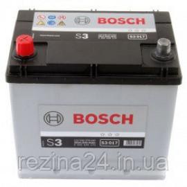 Акумулятор Bosch S3 45AH/300A (S3017)