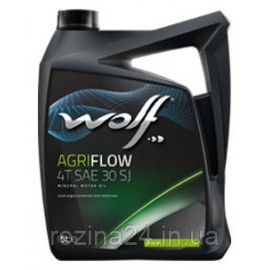 Моторне масло Wolf Agriflow 4T SJ 1л