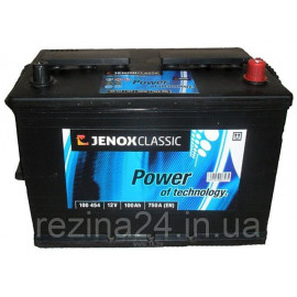 Акумулятор Jenox Classic 100AH/750A (100454)