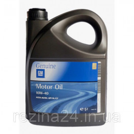 Моторне масло GM Motor Oil Semi Synthetic 10W-40 5л