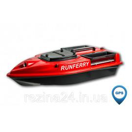 Карповый кораблик Camarad V3 + Lucky 918 Red + GPS, Красный, Не установлен