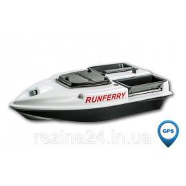 Карповый кораблик Camarad V3 + Lucky 918 Red + GPS, Белый, Не установлен