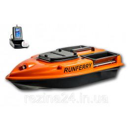 Карповый кораблик Camarad V3 + Lucky 918 Orange Не установлен, + Toslon TF500, Оранжевый