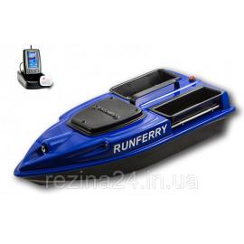 Карповый кораблик Camarad V3 + Lucky 918 Orange Не установлен, + Toslon TF500, Синий
