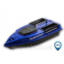 Карповый кораблик Camarad V3 + Lucky 918 Orange + GPS, Не установлен, Синий