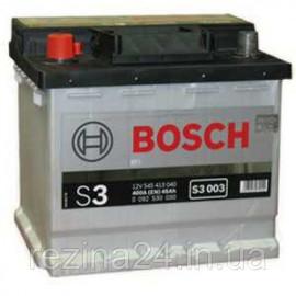 Акумулятор Bosch S3 45AH/400A (S3003)