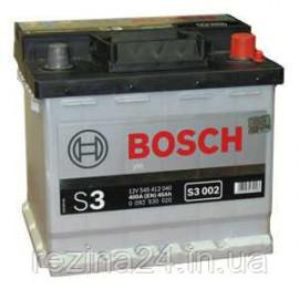 Акумулятор Bosch S3 45AH/400A (S3002)