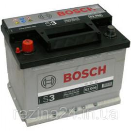 Акумулятор Bosch S3 56AH/480A (S3006)