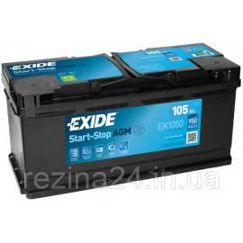 Акумулятор Exide 105AH/950A (EK1050)