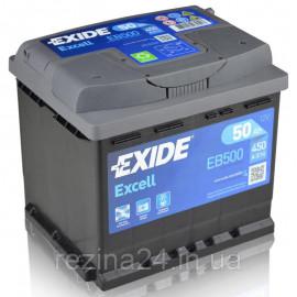 Аккумулятор Exide Excell 50AH/450A (EB500)