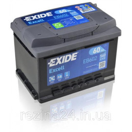 Аккумулятор Exide Excell 60AH/540A (EB602)
