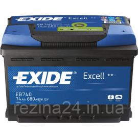 Аккумулятор Exide Excell 74AH/680A (EB740)